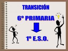 TRANSICIÓN PRIMARIA A SECUNDARIA